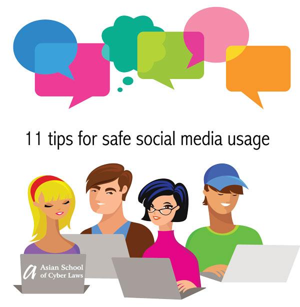 11 tips for safe social media usage